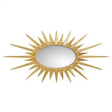 Virage Accent Mirror in Antique Gold Leaf