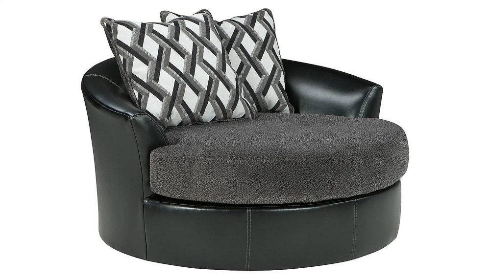 Ordinaire Oversized Swivel Accent Chair