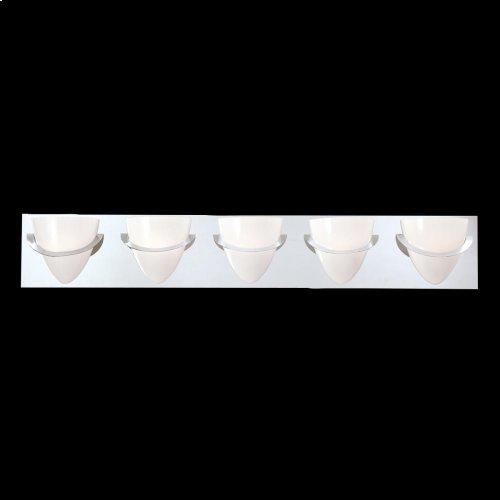 5-LIGHT BATHBAR - Chrome