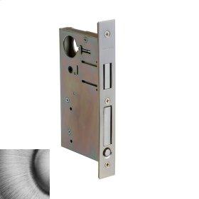 Matte Antique Nickel 8632 Pocket Door Lock with Pull