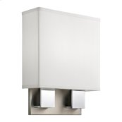 Santiago Collection Santiago 2 Light Fluorescent Wall Sconce - NCH