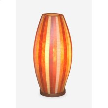 "(LS) Sedona Mosaic Table Lamp "" M (Brown Color) (10X10X20.5)"