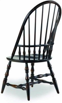 Sanctuary Windsor Side Chair-Ebony