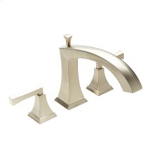 Roman Tub Faucet Leyden Series 14 Satin Nickel