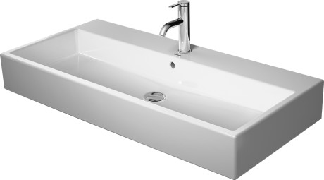 Vero Air Furniture Washbasin 3 Faucet Holes Punched