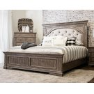 "Highland Park King Footboard Waxed Driftwood 82.5""x3.5""x23"" Product Image"