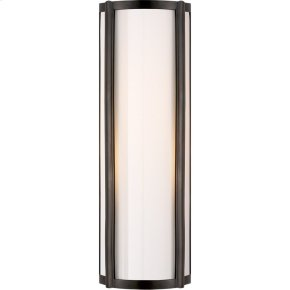 Visual Comfort AH2023GM-WG Alexa Hampton Basil 2 Light 6 inch Gun Metal Bath Wall Light