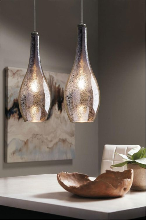 Everly Collection Everly 1 Light Pendant NI