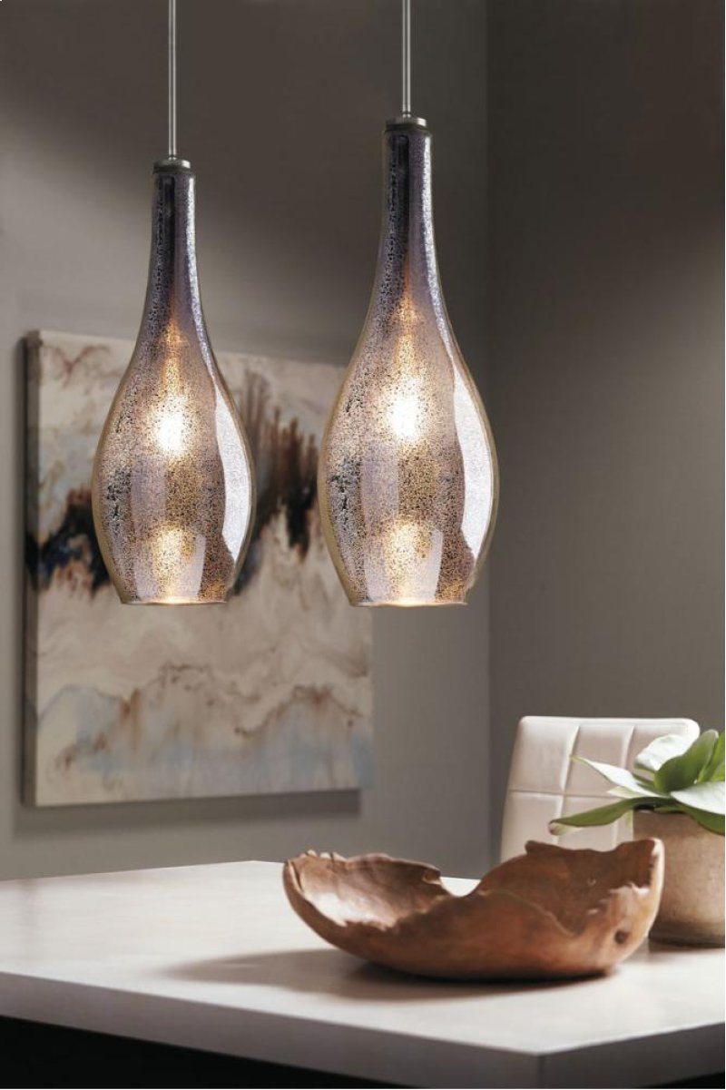 Hidden Additional Everly Collection 1 Light Pendant Ni