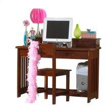 Desk/Hutch & Chair Merlot