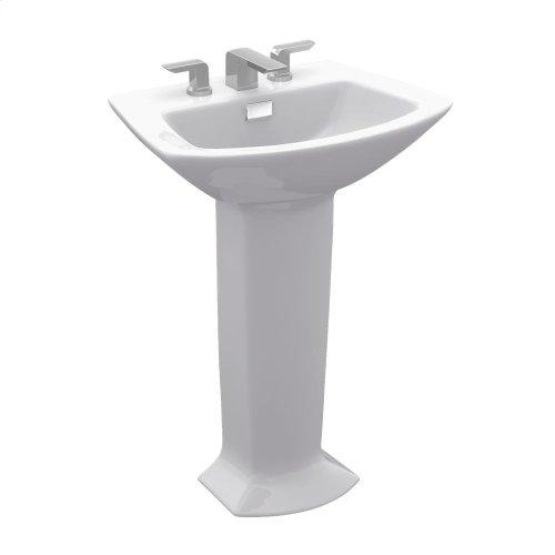 Soirée® Pedestal Lavatory - Colonial White