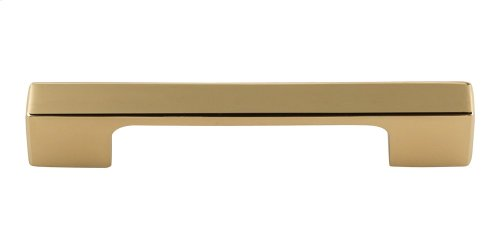 Thin Square Pull 3 3/4 Inch (c-c) - French Gold