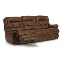 Great Escape Leather or Fabric Reclining Sofa