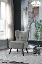 Accent Chair Grey Product Image