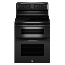 6.7 cu. ft. capacity double oven electric range with Power Preheat