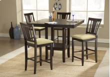 Arcadia 5pc Counter Height Dining Set