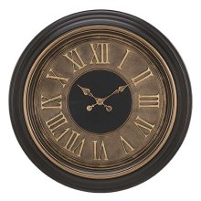 BROWN FINISH WITH GOLD RING / ANTIQUE COPPER 3D FACE WITH