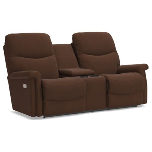 Baylor PowerReclineXRw Full Reclining Loveseat w/ Console