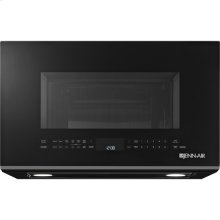 """Black Floating Glass 30"""" Over-the-Range Microwave Oven with Convection"""