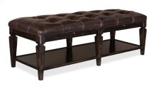 Classics Tufted Leather Bench
