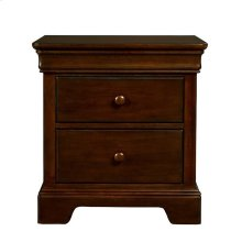Teaberry Lane Midnight Cherry Nighstand