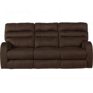CatnapperPower Headrest Power Lay Flat Reclining Sofa
