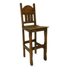 "30"" Barstool W/Wood Seat Medio Finish"