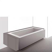 Bathtub in coextruded Grande built-in three sides. 1940 x 900 x h 540