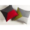 "Jonah JH-002 18"" x 18"" Pillow Shell with Polyester Insert"