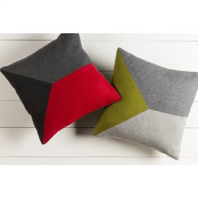 "Jonah JH-002 18"" x 18"" Pillow Shell with Down Insert"