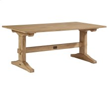 Wheat Kindred Trestle Table