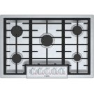 """Benchmark 30"""" Gas Cooktop, 5 Burners, Stainless Steel Product Image"""