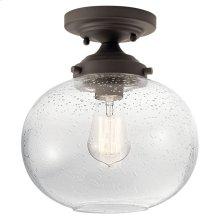 Avery 1 Light Semi Flush Olde Bronze®