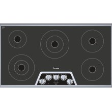 36 inch Masterpiece® Series Electric Cooktop CEM365NS