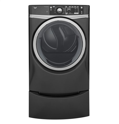 GE® 8.3 cu. ft. Capacity Front Load Electric ENERGY STAR® Dryer with Steam