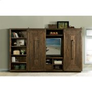 Modern Gatherings - Bridge and Back Panel - Brushed Acacia Finish Product Image
