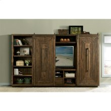 Modern Gatherings - Entertainment Console - Brushed Acacia Finish
