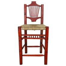 Resplandor Barstool w/ Wicker Seat