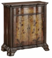 Accent Chest 2dr 1dw Dark Finish Product Image