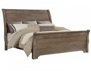 Sleigh Bed (Queen) Product Image