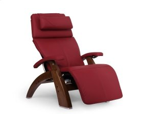 Perfect Chair PC-600 Omni-Motion Silhouette - Red Top-Grain Leather - Walnut