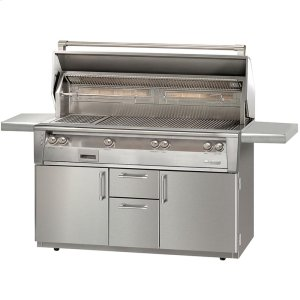 """Alfresco56"""" Standard All Grill with Cart"""