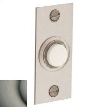 Antique Nickel Rectangular Bell Button