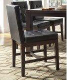 Uph Dining Chair (2 per carton) - Dark Chocolate Finish Product Image