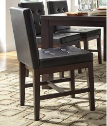 Uph Dining Chair (2 per carton) - Dark Chocolate Finish
