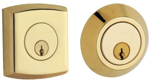 Non-Lacquered Brass Soho Deadbolt
