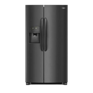 Gallery 25.5 Cu. Ft. Side-by-Side Refrigerator - BLACK STAINLESS STEEL