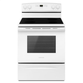 30-inch Amana(R) Electric Range with Extra-Large Oven Window