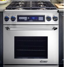 """Discovery 30"""" Range, in Stainless Steel with Chrome Trim (Liquid Propane)"""