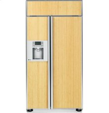 """GE Profile™ Series 48"""" Built-In Side-by-Side Refrigerator"""